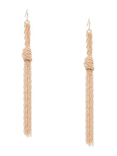 Guess Designer Earrings - GUESS Women's Katherine Knot Tassel Earrings