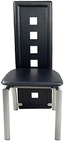 Modern and Classic Pub PVC Leather Chairs, Bar Pub Dining Room Kitchen Home Furniture, Bistro Kitchen Dining Side Chair