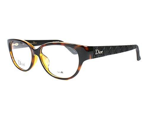 Optical frame Christian Dior Optyl Dark Havana - Black stripe (CD7070J (Christian Dior Optical Frames)