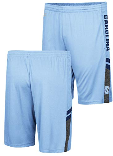 (UNC Tarheels Carolina Blue Polyester Perfect Season Training Shorts (Medium))