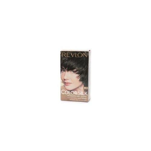Revlon ColorSilk Beautiful Color Permanent Hair Color 20 Brown Black 1 EA - Buy Pack & Save (Pack of 4)