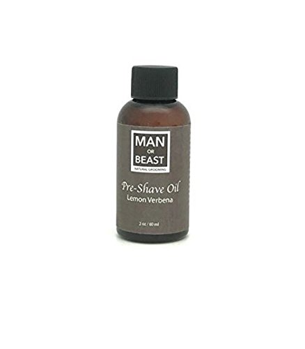 Man or Beast USA Made Pre Shave and Beard Oil - Natural G...