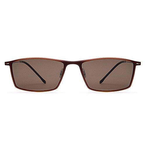 de de Negro Hombres Gafas UV400 Proteger Yxsd los polarizadas para Ojos ultraplana Conducción Color Marrón Protección Pesca SunglassesMAN Sol wAzTETq
