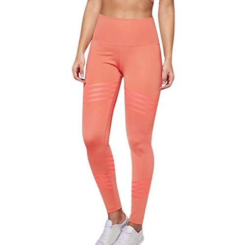 MTENG Women's Casual Solid Color Twill Hip Exercise Fitness Running Yoga Pants Yoga Pants High-Waist Tummy -
