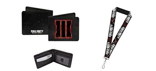 Call of Duty Black OPS 3 Lanyard and Wallet