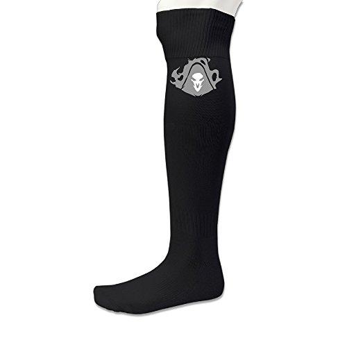 EDRE Watch Reaper Men's&Women's Rugby SocksBlack (1 Pair)