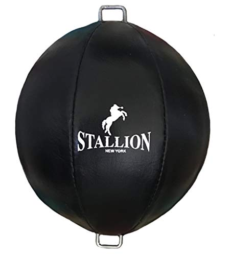 STALLION NEW YORK All Pro Boxing Double-End Speed Bag – Genuine Leather – Excellent Performance – State-of-The-Art…