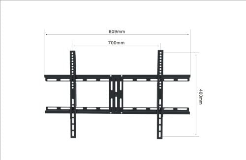 Black Tilting Wall Mount Bracket for Sanyo DP42647 LCD 42 inch HDTV TV