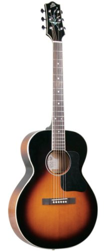 The Loar Small Body Acoustic Guitar, Sunburst Finish ()