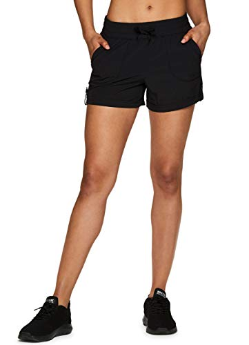 Jacket Stretch Woven - RBX Active Women's Stretch Woven Athletic Walking Short with Pockets S-19 Black S