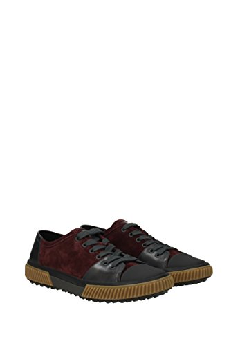 Prada Sneakers Mænd - Ruskind (4e3058scamosciatovi) Eu Rød fbuqySQS