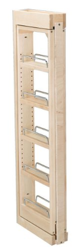- Rev-A-Shelf RS432.WF36.3C 3 in. W x 36 in. H Wall Filler Pull Out, Wood