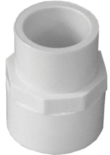 Pvc Reducer 1/2 - Genova Products 30175 PVC Reducing Coupling, 3/4 x 1/2