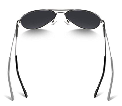 Hombres Gafas Pistola Moda De Gafas Gafas Negro Fresno Driver De 8023 Polarizadas Sol De Cuadro Conducción De De NHDZ qX4wdZHq