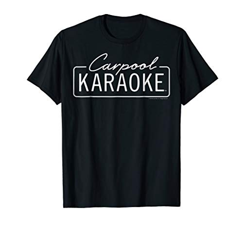The Late Late Show with James Corden Carpool Karaoke T-Shirt (The Late Late Show With Craig Ferguson Episodes)