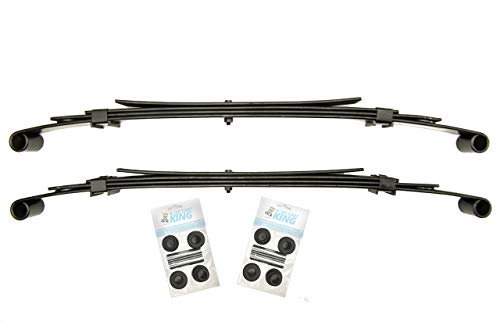 Club Car Precedent Golf Cart Heavy Duty Rear Leaf Springs Kit