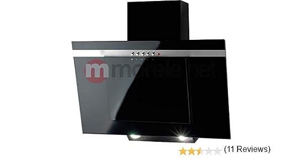 Akpo - Campana extractora wk-4 nero line negro / 90cm / 420m3/h - campana extractora de cocina: Amazon.es: Grandes electrodomésticos