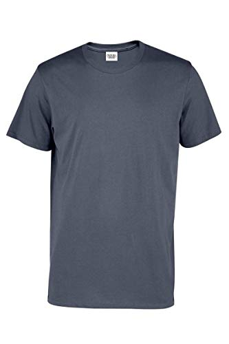 Clothing Garb - Casual Garb Men's Crew Neck T Shirt Short Sleeve Tee T Shirts for Men Charcoal X-Large
