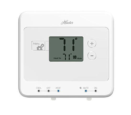 Hunter 42123 - Digital Non-Programmable Thermostat (Home Thermostat, AC, Heat)