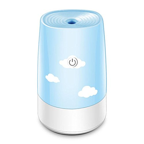 GOUGOU Portable USB humidifier Car office desk bedroom bedroom air purifier Silent humidifier by YANQI