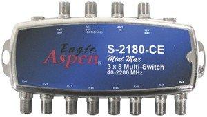 Pro Brand Eagle Aspen 3 x 8-way Signal Splitter - Signal Splitter