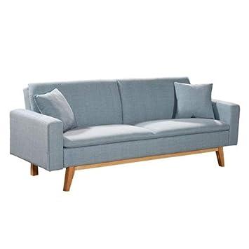 magasin en ligne 5180d fb9db Novohogar élégant canapé lit 3 Places Malmö Confortable et ...