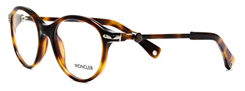 Eyeglasses Moncler MC002 V04 shiny brown round frames - Moncler Shiny