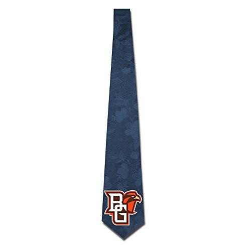 State University Necktie - ONESEDA Men's Bowling Green State University Tie Necktie Ties