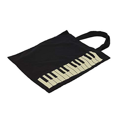 Grande Messenger Simple À Plein Capacité Air Sac Sac Bandoulière Style Imprimé À Sac En D'achat Main Sac Coton Piano En Mode Voyage 6wrvxq67