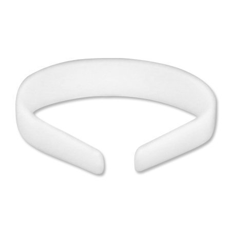 Plastic Headband White Craft - 25mm 1 inch (12) 24003