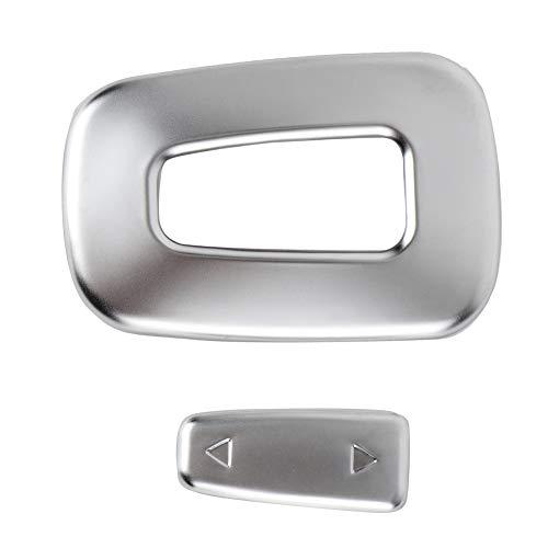 - Duokon Interior Switch Trim, 2Pcs ABS Plastic Left Hand Drive Car Copilot Seat Adjustment Switch Frame Cover Trim for Sport 2013-2017