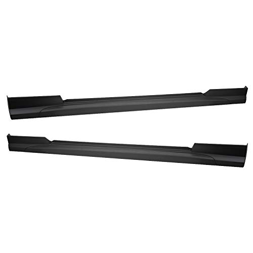 TC Sportline BO-FOMU053162 Type-Sport Polyurethane PU Side Skirt Spoiler for 2005-2009 FORD MUSTANG V6 V8