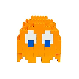 Strictly Briks Pac-Man & BANDAI NAMCO Entertainment Inc | Pac-Man Classic Briks Clyde Ghost - 116 Pieces Classic Briks 3D Build