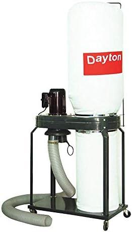DAYTON 3AA28 Dust Collector, Single Stage
