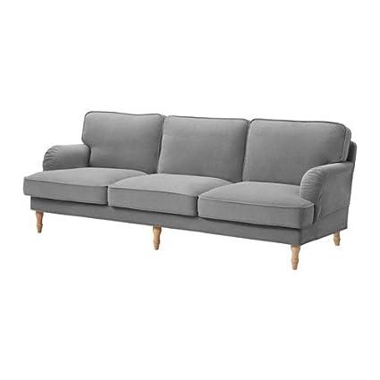 IKEA Stocksund - Funda para sofá de 3 plazas ljungen Gris ...
