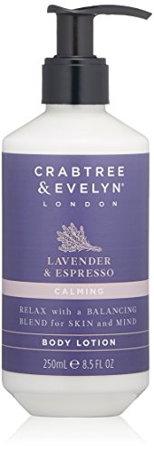 Crabtree & Evelyn Lavender & Espress Body Lotion, 8.5 fl. oz.