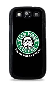 Storm Trooper Starbucks Samsung Galaxy S5 Hardshell Case - Black - 715