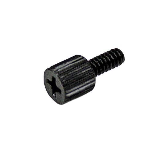 StarTech 6-32, 5/16-Inches Long Black Metal Computer Case Thumbscrew - 50 Pack SCREWTHUMB by StarTech