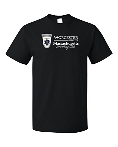 Massachusetts Drinking Club, Worcester Chapter | MA T-shirt
