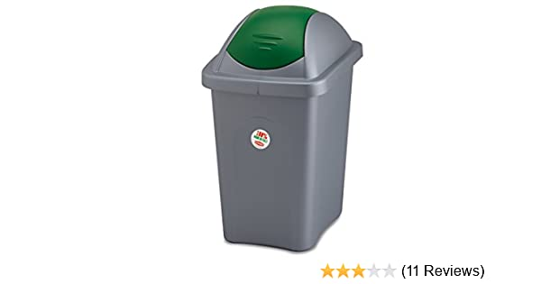 Stefanplast Basculina Garbage Bin with Lid Polypropylene 60 lt