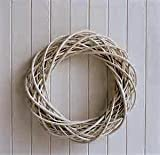 This adorable willow wreath is the perfect for your own home decoration.