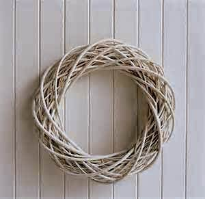 SparkWorks Grey Willow Wreath - Wreath Gray