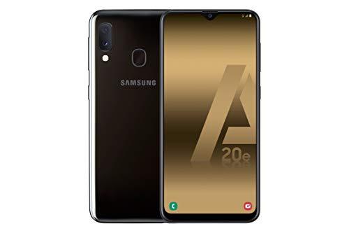 Samsung Galaxy A20e – Smartphone de 5.8″ Super AMOLED (13 MP, 3 GB RAM, 32 GB ROM), Color Negro [Versión Española]