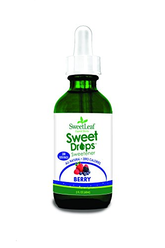 SweetLeaf Sweet Drops Liquid Stevia Sweetener, Berry, 2 Ounce -
