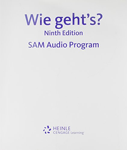 Lab Audio CDs (9) for Sevin/Sevin's Wie geht's?