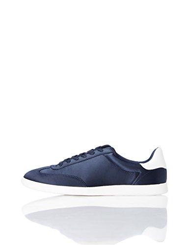 FIND Retro, Women's Low-Top Sneakers Blue (Navy)