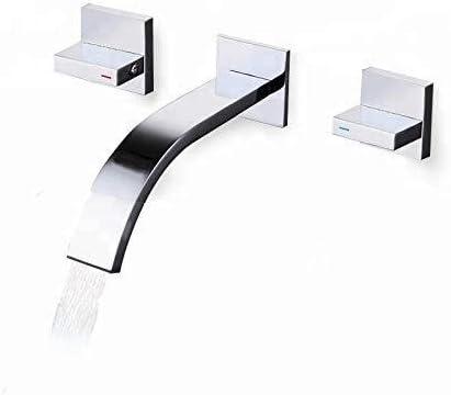 WXQ-XQ 蛇口バスルームシンクウォールマウント耐久性のあるハング銅タップ洗浄手盆地のトイレファンシーミキサーダブルハンドルの蛇口日常を、ハンギング