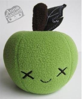 Fermented Green Apple Plush Anna Chambers Designer Art
