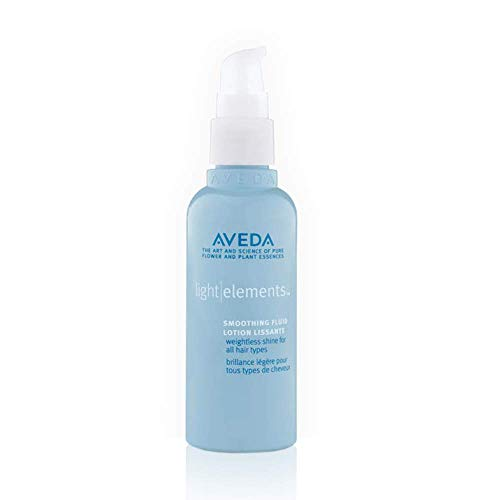 AVEDA Light Elements Smoothing Fluid 3.4 oz Smooths Frizz and Restores a Healthy Look to All Hair Types (Aveda Smooth Infusion)