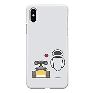 Loud Universe Wall E Robots iPhone XS MAX Case Eco iPhone XS MAX Cover with 3d Wrap around Edges